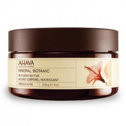 AHAVA MINERAL BOTANIC BODY BUTTER HIBISCUS & FIG 8 OZ