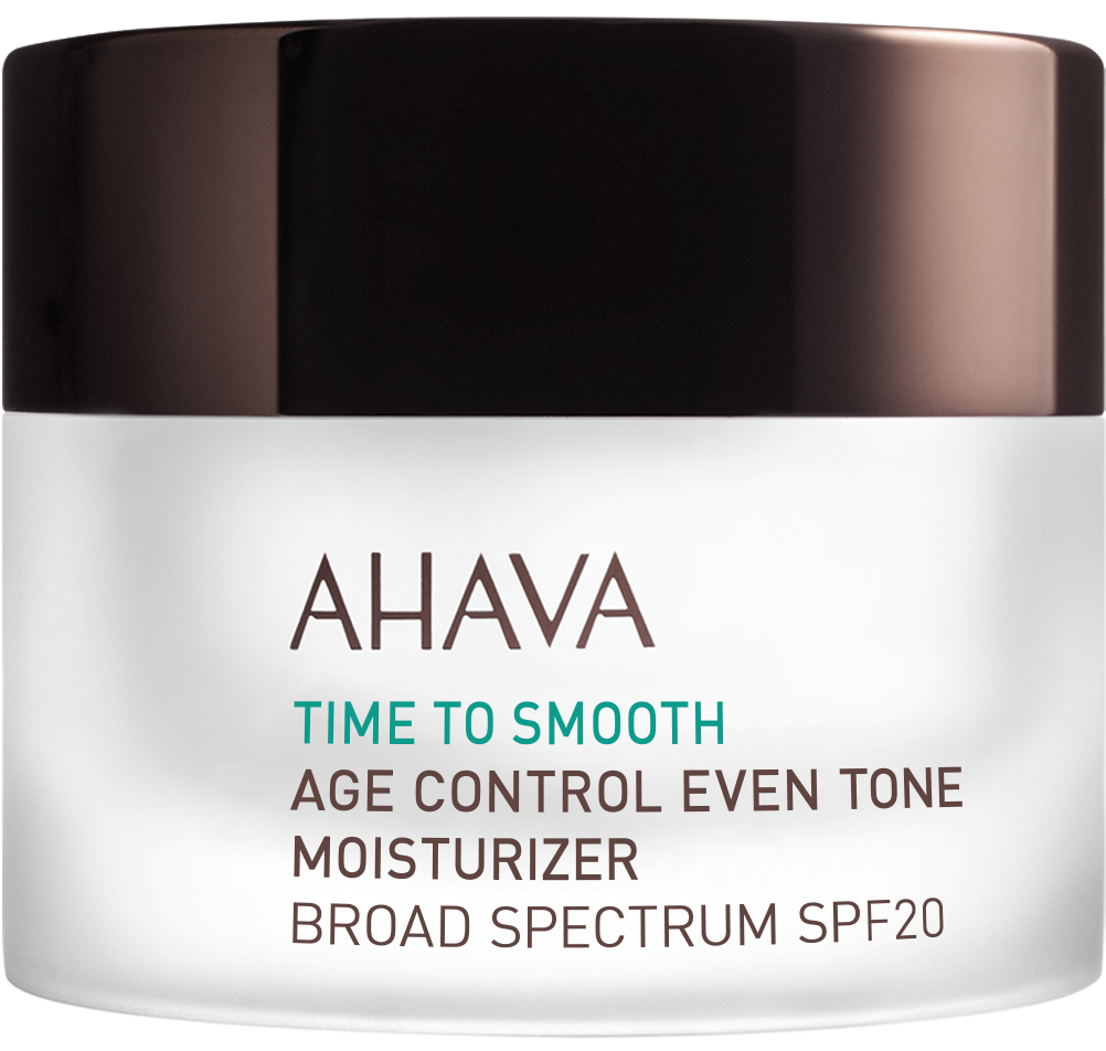 AHAVA TIME TO SMOOTH AGE CONTROL EVEN TONE MOISTURIZER SPF20 1.7 OZ