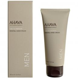 AHAVA TIME TO ENERGIZE HAND CREAM 3.4 OZ FOR MEN