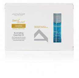 ALFAPARF SEMI DI LINO DIAMOND FOR ALL HAIR TYPES ILLUMINATING ESSENTIAL OIL 12*13ML