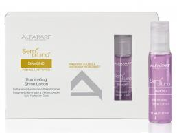 ALFAPARF SEMI DI LINO DIAMOND FOR ALL HAIR TYPES ILLUMINATING SHINE LOTION 12*13ML