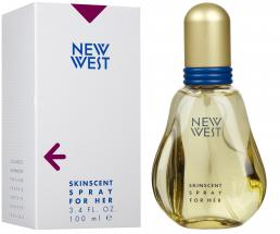 NEW WEST 3.4 EDT SP FOR WOMEN