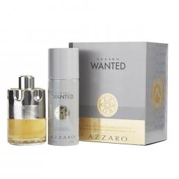 AZZARO WANTED 2 PCS SET: 3.4 EDT SP