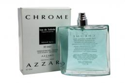 AZZARO CHROME TESTER 3.4 EDT SP