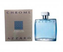 AZZARO CHROME 3.4 AFTERSHAVE LOTION SPLASH