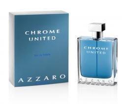 AZZARO CHROME UNITED 6.8 EDT SP FOR MEN