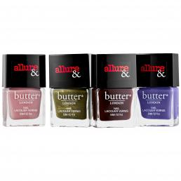 BUTTER LONDON ARM CANDY SET: 4 X 6ML NAIL LACQUERS