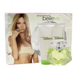 BRITNEY SPEARS BELIEVE 3 PCS SET FOR WOMEN: 3.3 SP