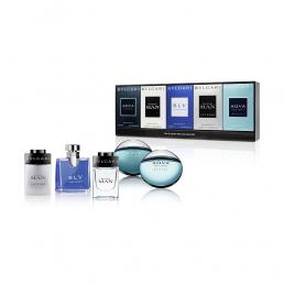 BVLGARI 5 PCS MINI COLLECTION SET FOR MEN