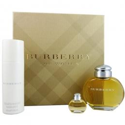 BURBERRY CLASSIC 3 PCS SET FOR WOMEN: 3.4 SP