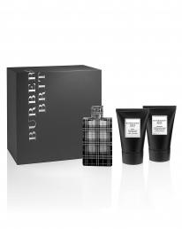 BURBERRY BRIT 3 PCS SET FOR MEN: 3.4 SP + 3.3 A/S BALM + 3.3 S/G