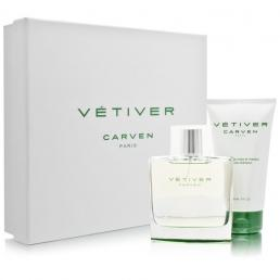 VETIVER CARVEN 2 PCS SET: 3.4 EDT SP