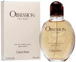OBSESSION 2.5 EDT SP FOR MEN