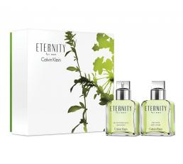 ETERNITY 2 PCS SET FOR MEN: 3.4 SP + A/S