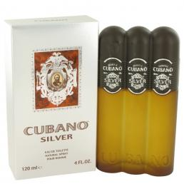 CUBANO SILVER 4 OZ EDT SP FOR MEN