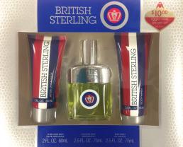BRITISH STERLING 3 PCS SET: 2.5 SP