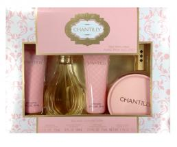 CHANTILLY 5 PC SET FOR WOMEN: 3 OZ SP