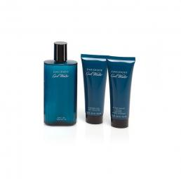 COOLWATER 3 PCS SET FOR MEN: 4.2 EDT SP + 2.5 SHOWER GEL + 2.5 AFTER SHAVE BALM