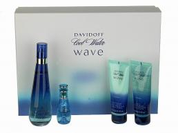 COOLWATER WAVE 4 PCS SET FOR WOMEN: 3.4 SP