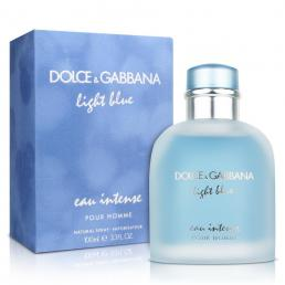 DOLCE & GABBANA LIGHT BLUE EAU INTENSE 3.3 EDP SP FOR MEN
