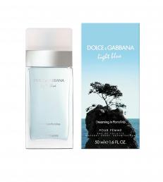 DOLCE & GABBANA LIGHT BLUE PORTOFINO 1.7 EDT SP FOR WOMEN