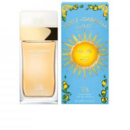 DOLCE & GABBANA LIGHT BLUE SUN 1.6 EAU DE TOILETTE SPRAY FOR WOMEN
