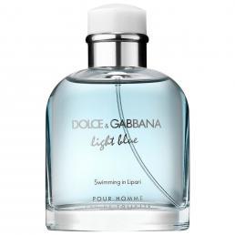 DOLCE & GABBANA LIGHT BLUE SWIMMING IN LIPARI TESTER 4.2 EDT SP FOR MEN