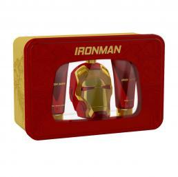 MARVEL IRON MAN 3 PCS SET FOR MEN: 3.4 EAU DE TOILETTE SPRAY + 3.4 SHOWER GEL + 3.4 AFTER SHAVE BALM
