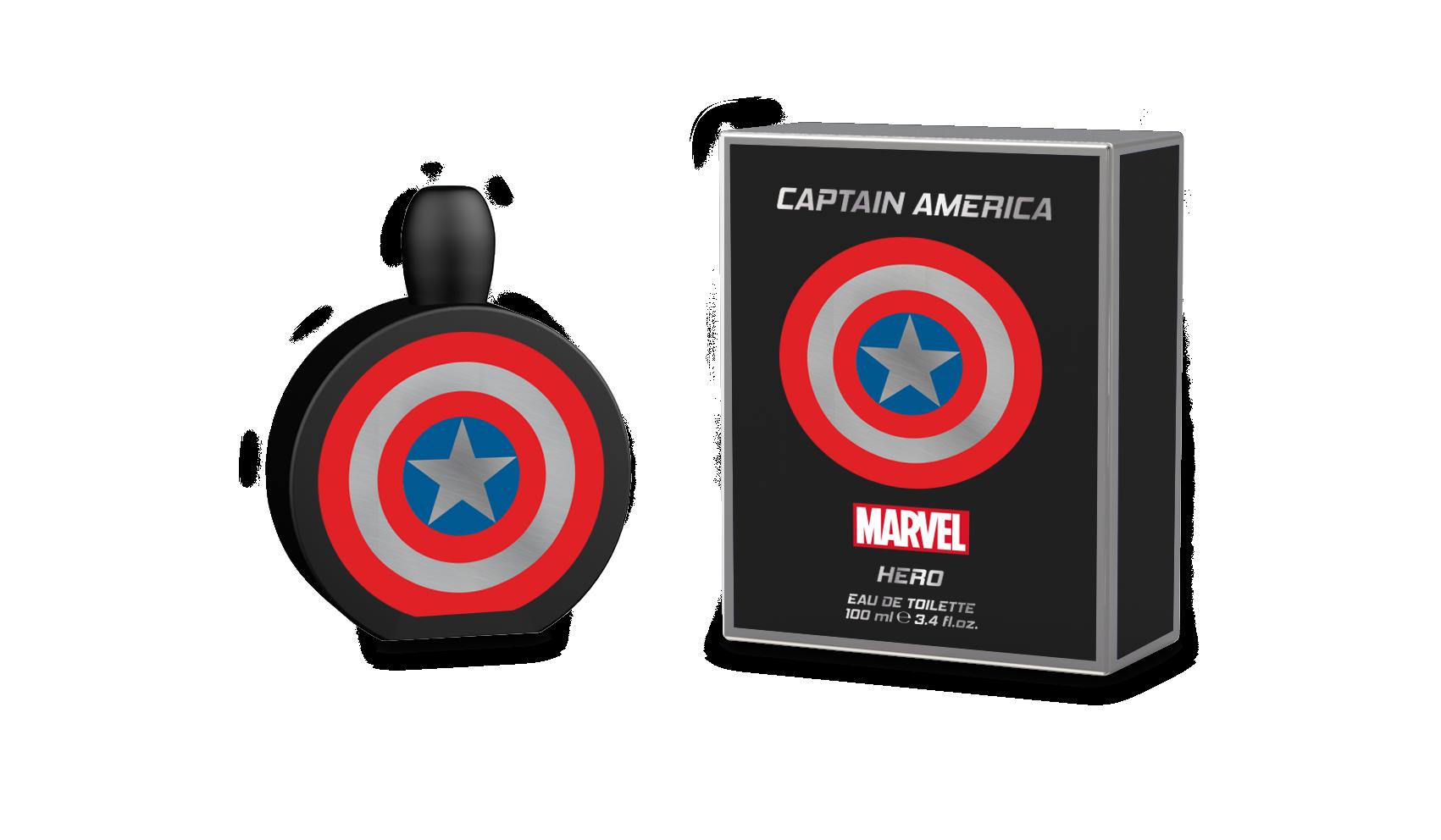MARVEL CAPTAIN AMERICA HERO 3.4 EDT SP
