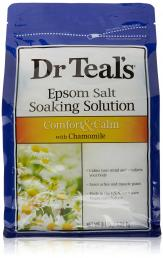 DR. TEAL'S PURE EPSOM SALT SOAKING SOLUTION COMFORT & CALM WITH CHAMOMILE 3 LBS.