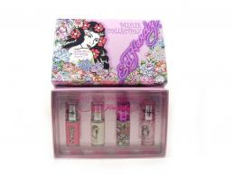 ED HARDY 4 PCS MINI SET WOMEN: 4 PCS * 7.5 ML SP