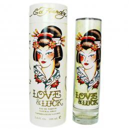 ED HARDY LOVE & LUCK 3.4 EDP SP FOR WOMEN