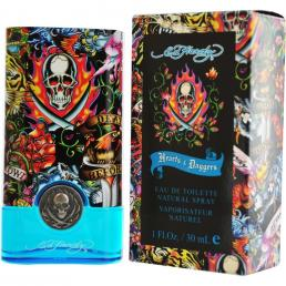 ED HARDY HEARTS & DAGGERS 1OZ EDT SP-MEN