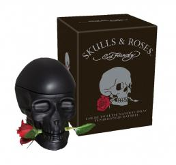 ED HARDY SKULLS & ROSES 2.5 EDT SP FOR MEN