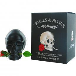 ED HARDY SKULLS & ROSES 3.4 EAU DE TOILETTE SPRAY FOR MEN