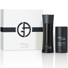 ARMANI CODE 2 PCS SET FOR MEN: 2.5 SP