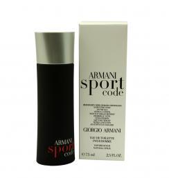 ARMANI CODE SPORT TESTER 2.5 EDT SP FOR MEN