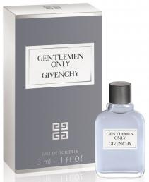 GIVENCHY GENTLEMEN ONLY MINI 3 ML OZ EDT