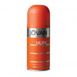 JOVAN MUSK 5 OZ DEODORANT BODY SPRAY FOR MEN