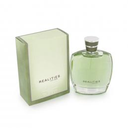 REALITIES NEW 3.4 EDT SP FOR MEN (GREEN)