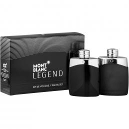 MONT BLANC LEGEND 2 PCS SET: 3.4 EDT SP (TRAVEL)