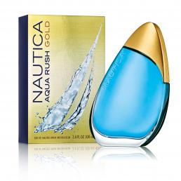 NAUTICA AQUA RUSH GOLD 3.4 EDT SP FOR MEN