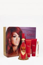 REBELLE BY RIHANNA 4 PCS SET: 3.4 SP