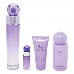 360 PURPLE 4 PCS SET FOR WOMEN: 3.4 SP