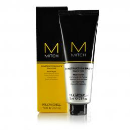 PAUL MITCHELL M MITCH CONSTRUCTION PASTE ELASTIC HOLD MESH STYLER 2.5 OZ