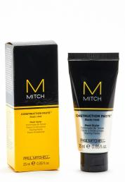 PAUL MITCHELL M MITCH CONSTRUCTION PASTE ELASTIC HOLD MESH STYLER 0.85 OZ