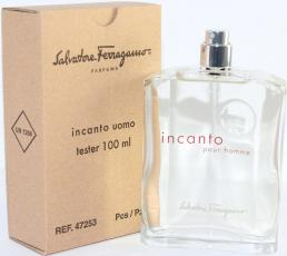 SALVATORE FERRAGAMO INCANTO TESTER 3.4 EDT SP FOR MEN