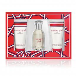 TOMMY GIRL 3 PCS SET: 1 OZ EAU DE TOILETTE SPRAY + 2.5 BODY LOTION + 2.5 SHOWER GEL
