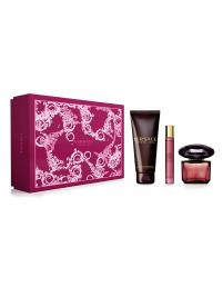 VERSACE CRYSTAL NOIR 3 PCS SET: 3 OZ SP