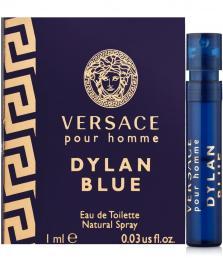 VERSACE DYLAN BLUE 0.03 OZ EAU DE TOILETTE SPRAY VIAL FOR MEN